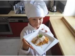 Čočkové špagety s kešu omáčkou