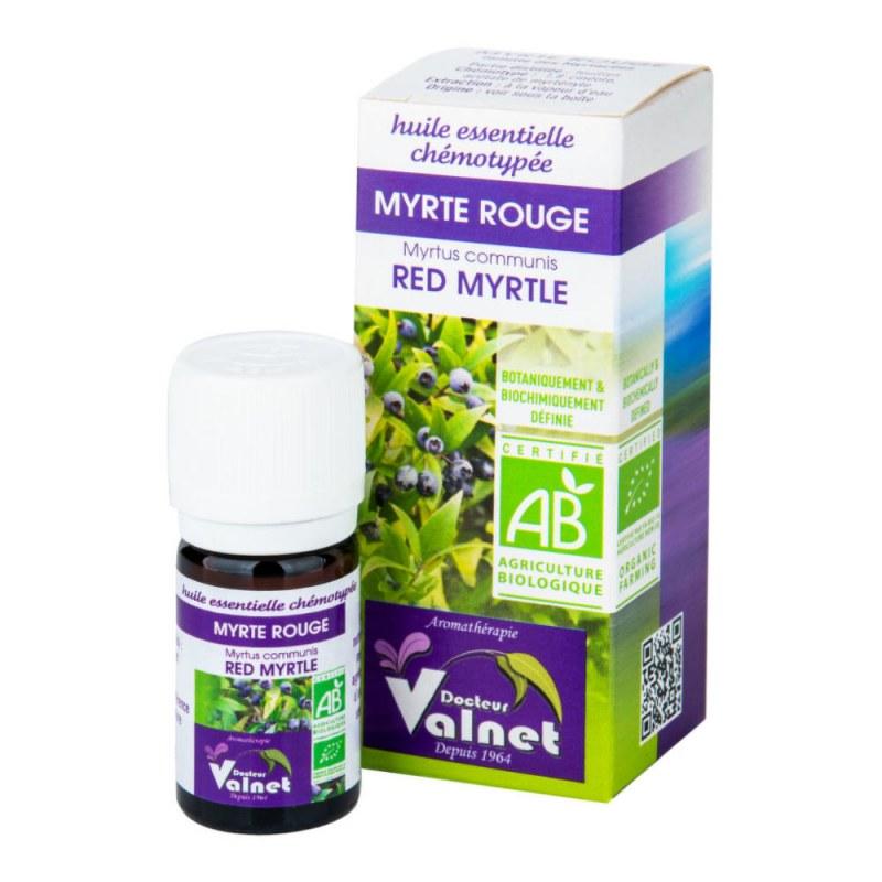 Éterický olej červená myrta 5 ml BIO DOCTEUR VALNET - Přírodní kosmetika Francie, USA Aromaterapie