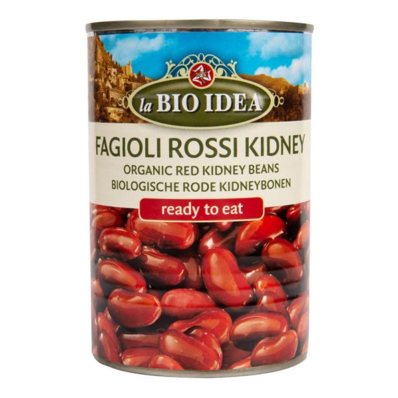 Fazole červená ledvina sterilovaná 400g BIO BIOIDEA - Zdravá výživa a biopotraviny Směsi a omáčky Sterilovaná zelenina a luštěnina