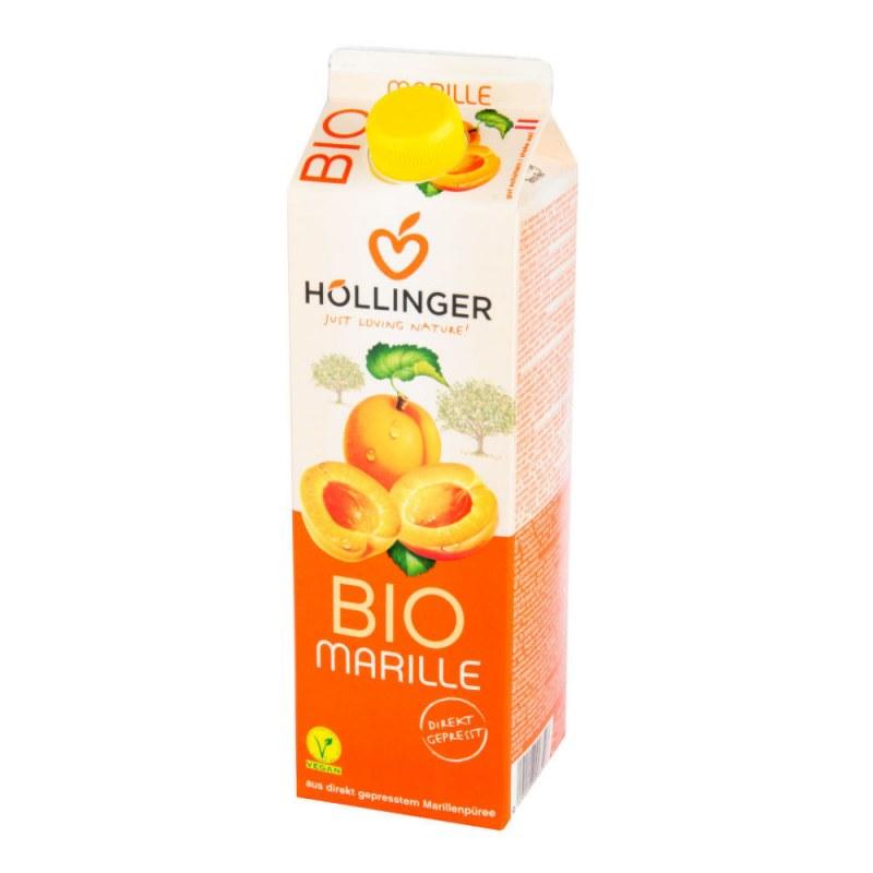 Nektar meruňka 1l BIO HOLLINGER - Zdravá výživa a biopotraviny Zdravé ovocné a zeleninové nápoje, čaje Zdravé přírodní nápoje Džusy, šťávy, mošty