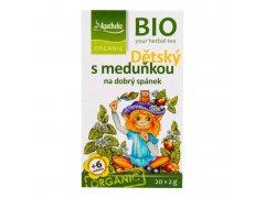 Čaj Dětský ovocný s meduňkou 40g BIO MEDIATE