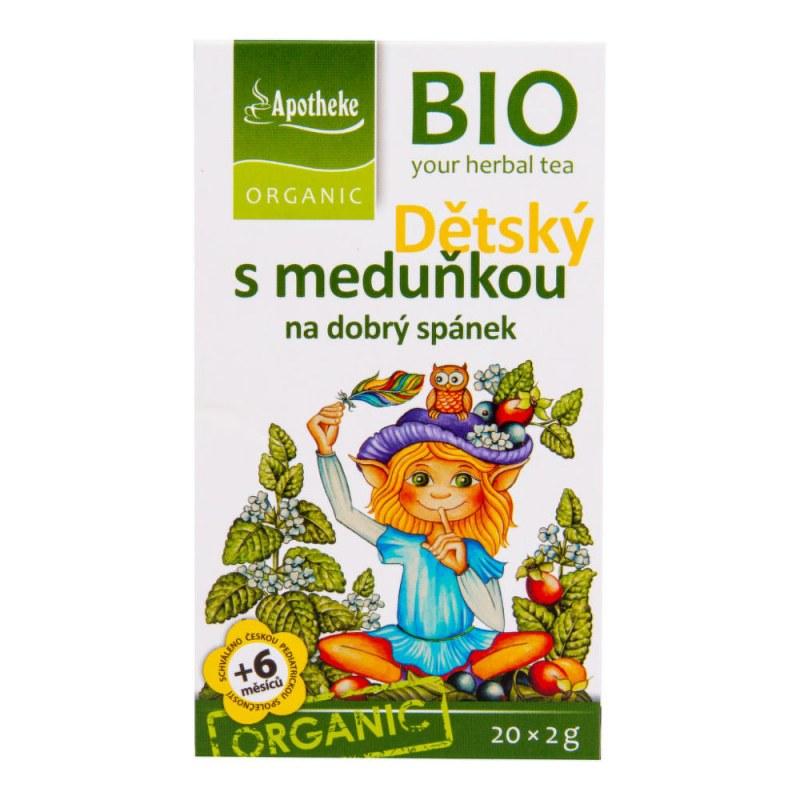 Čaj Dětský ovocný s meduňkou 40g BIO MEDIATE - Zdravá výživa a biopotraviny Zdravé ovocné a zeleninové nápoje, čaje Čaje Čajové směsi