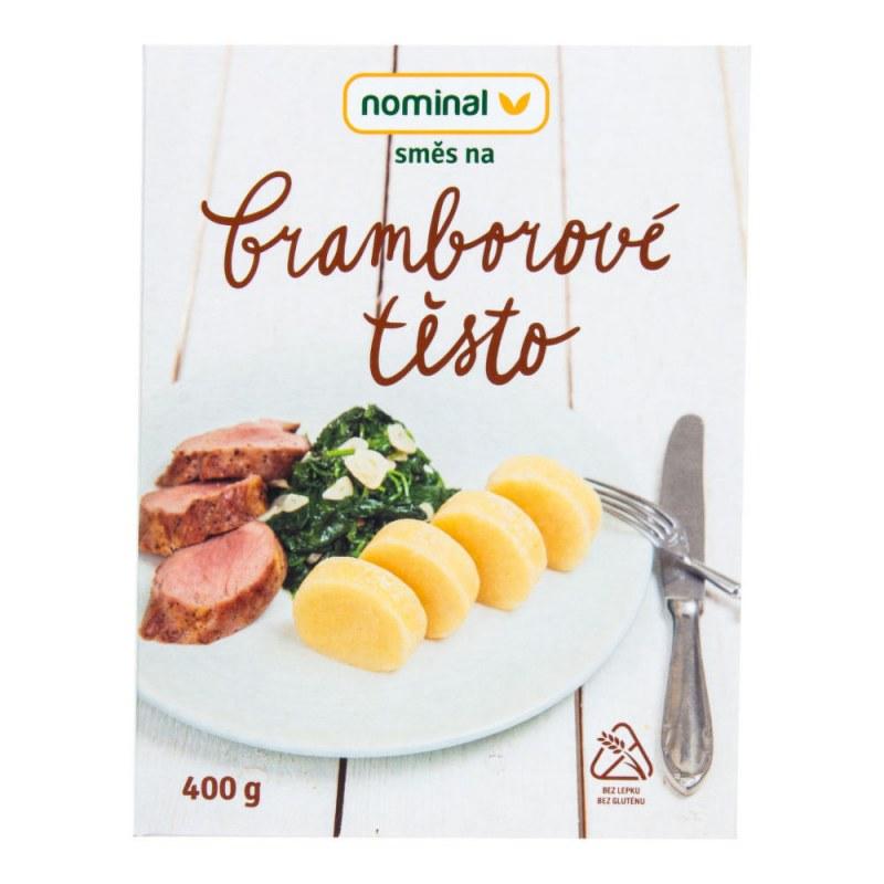 Směs na bramborové těsto bezlepkové 400g NOMINAL - Zdravá výživa a biopotraviny Směsi a omáčky Směsi na chleba, palačinky