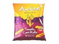 Chipsy kukuřičné rajčatové 100 g BIO AMAIZIN