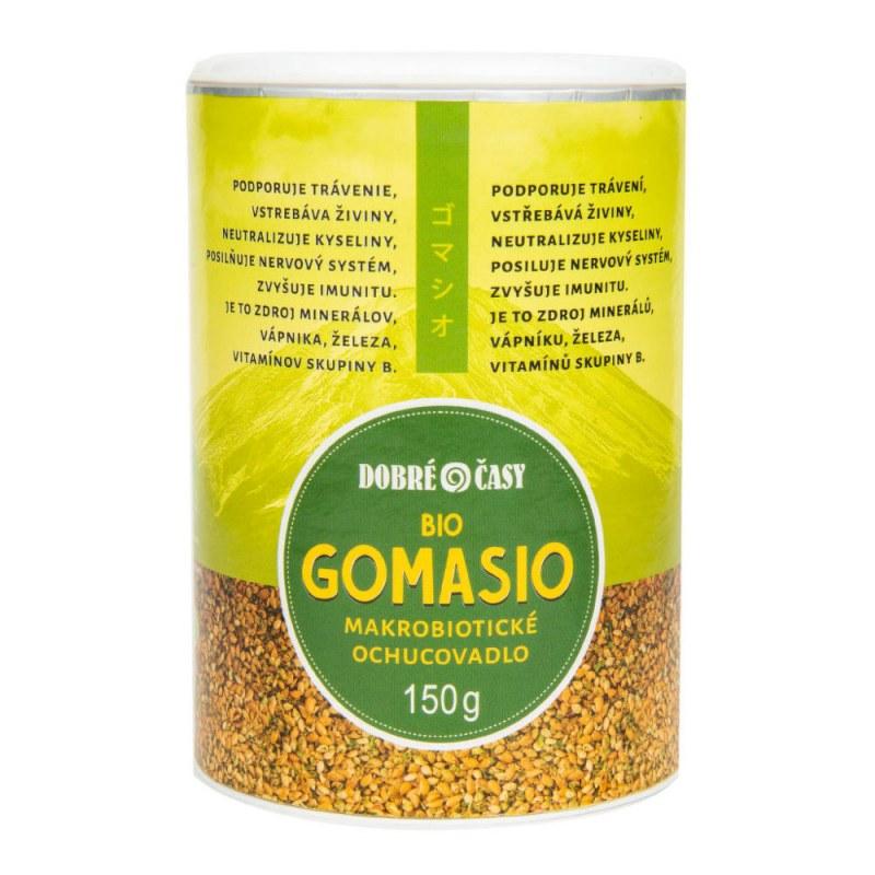 Gomasio 150g BIO DOBRÉČASY - Zdravá výživa a biopotraviny Ochucovadla Sůl