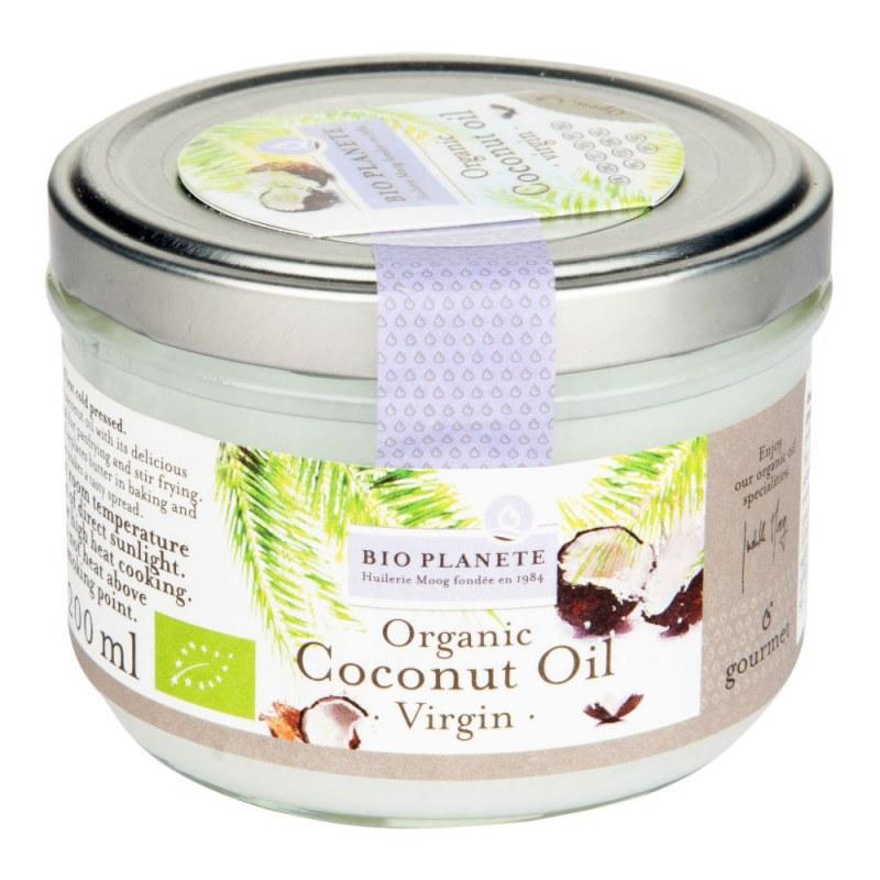 Olej kokosový 200ml BIO BIO PLANETE - Zdravá výživa a biopotraviny Rostlinné oleje, ghí