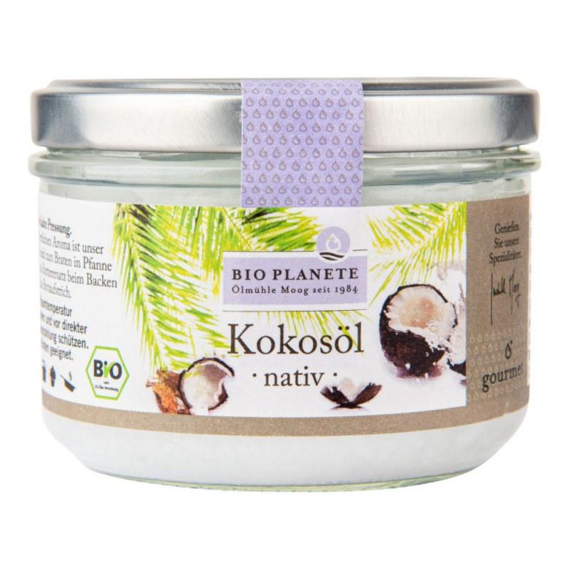 Olej kokosový panenský 200ml BIO BIO PLANETE - Zdravá výživa a biopotraviny Rostlinné oleje, ghí
