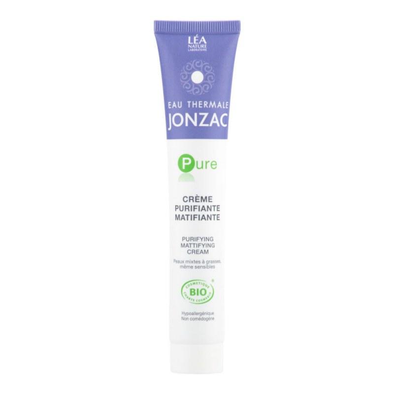 Krém čisticí matující PURE 50 ml BIO JONZAC - Přírodní kosmetika Francie, USA Pleťová kosmetika Pleťové krémy a gely