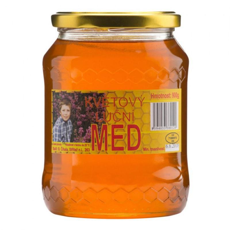 Med květový luční 900g ČÍHALA - Zdravá výživa a biopotraviny Med, melasa a další sladidla Med