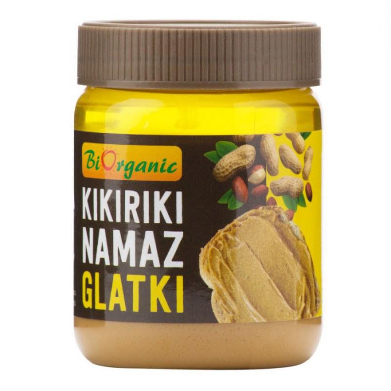 Krém arašídový jemný 340g BIO BIORGANIC - Zdravá výživa a biopotraviny Pomázanky, paštiky, džemy Pomázanky z ořechů a semínek