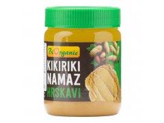 Krém arašídový s kousky 340g BIO BIORGANIC