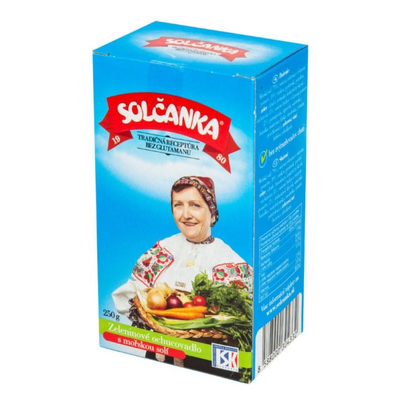 Solčanka s mořskou solí 250g SOLČANKA - Zdravá výživa a biopotraviny Ochucovadla Sůl