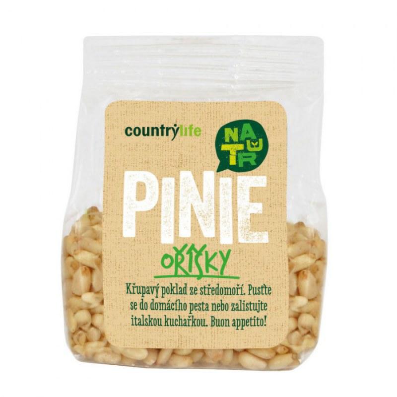 Piniové oříšky 50g COUNTRYLIFE - Zdravá výživa a biopotraviny Ořechy, sušené ovoce, semínka Ořechy