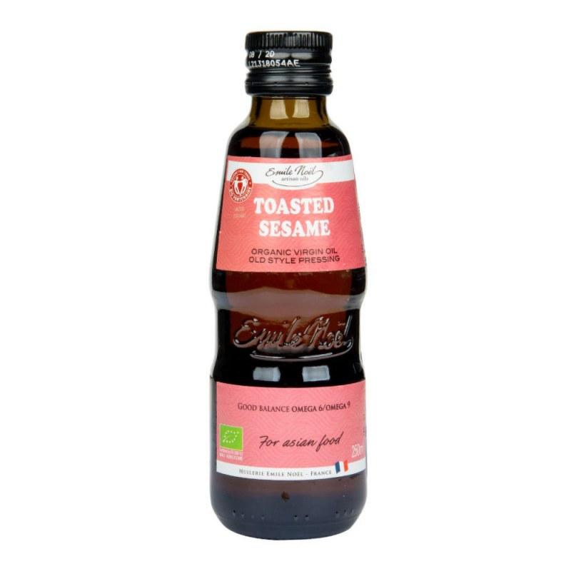Olej z praženého sezamu 250ml BIO EMILENOËL - Zdravá výživa a biopotraviny Rostlinné oleje, ghí