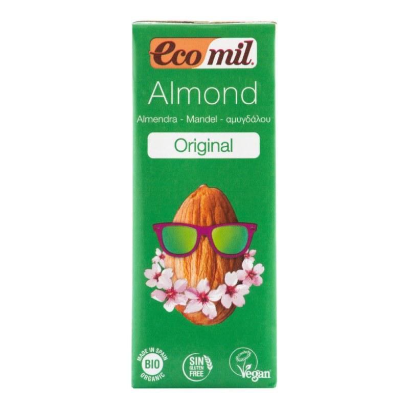 Nápoj ze sladkých mandlí 200ml BIO ECOMIL - Zdravá výživa a biopotraviny Rostlinná mléka a dezerty Ořechová mléka a dezerty