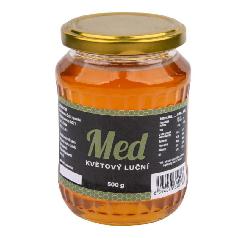 Med květový luční 500g ČÍHALA - Zdravá výživa a biopotraviny Med, melasa a další sladidla Med