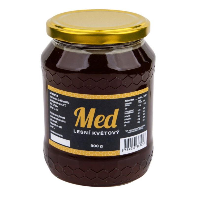 Med lesní květový 900g ČÍHALA - Zdravá výživa a biopotraviny Med, melasa a další sladidla Med