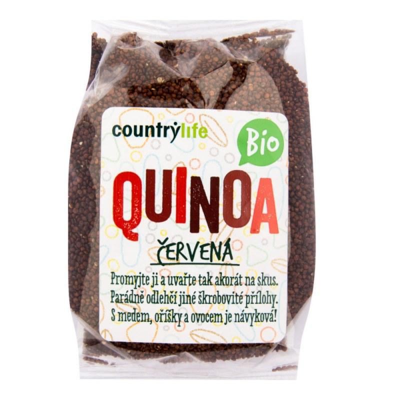 Quinoa červená 250g BIO COUNTRYLIFE - Zdravá výživa a biopotraviny Rýže, těstoviny, vločky a jiné obiloviny Nezpracované obiloviny
