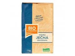 Mouka ječná celozrnná jemně mletá 1kg BIO BIOHARMONIE