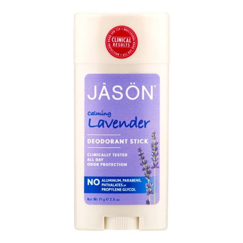 Deodorant tuhý levandule 71 g JASON - Přírodní kosmetika Francie, USA Přírodní deodoranty a parfémy Deodoranty bez hliníku