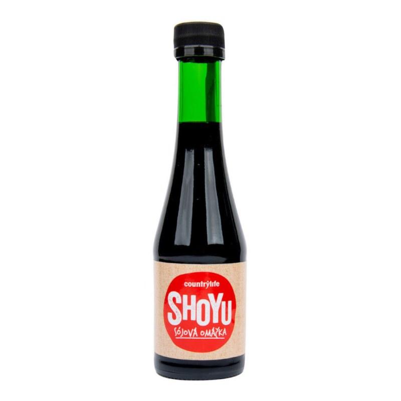 Shoyu sójová omáčka 200ml COUNTRYLIFE - Zdravá výživa a biopotraviny Ochucovadla Shoyu, tamari, miso, umeboshi