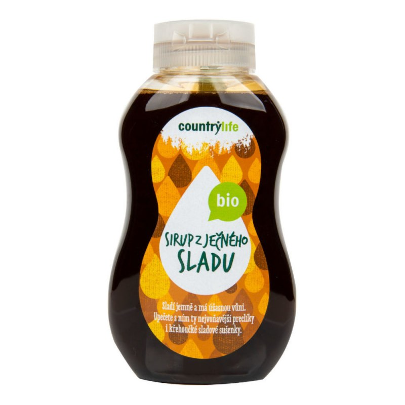 Sirup z ječného sladu 250ml BIO COUNTRYLIFE - Zdravá výživa a biopotraviny Med, melasa a další sladidla Sirupy a slady