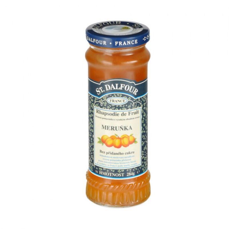 Džem meruňka 284g DALFOUR - Zdravá výživa a biopotraviny Pomázanky, paštiky, džemy Džemy bez cukru