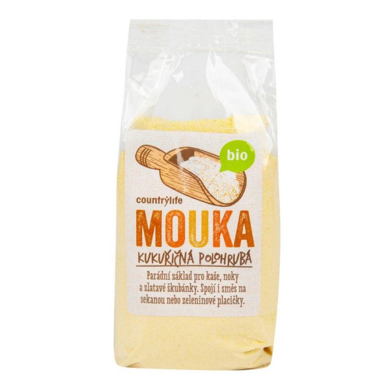Mouka kukuřičná polohrubá 400g BIO COUNTRYLIFE - Zdravá výživa a biopotraviny Rýže, těstoviny, vločky a jiné obiloviny Mouky, krupice, strouhanka
