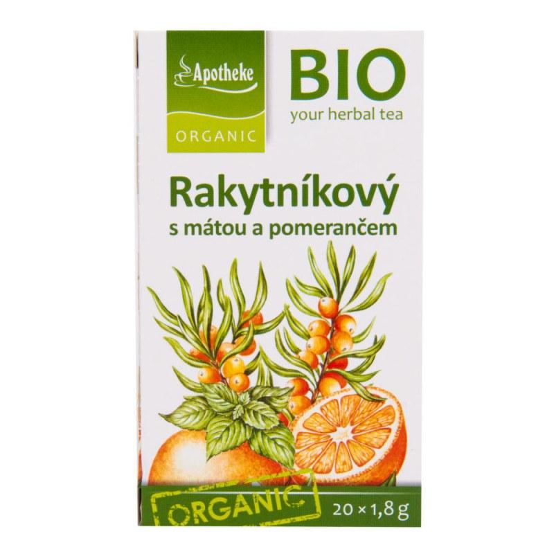Čaj Rakytníkový s mátou a pomerančem 36g BIO MEDIATE - Zdravá výživa a biopotraviny Zdravé ovocné a zeleninové nápoje, čaje Čaje Čajové směsi