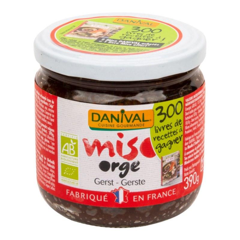 Miso ječmen 390g BIO DANIVAL - Zdravá výživa a biopotraviny Ochucovadla Shoyu, tamari, miso, umeboshi