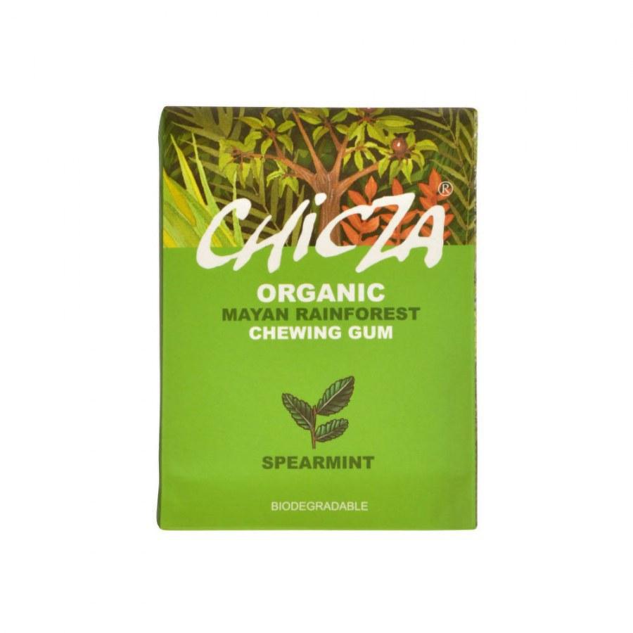 Žvýkačka s příchutí spearmint 30 g BIO CHICZA - Zdravá výživa a biopotraviny Něco na zub Sladké Bonbóny, lízátka, zvýkačky