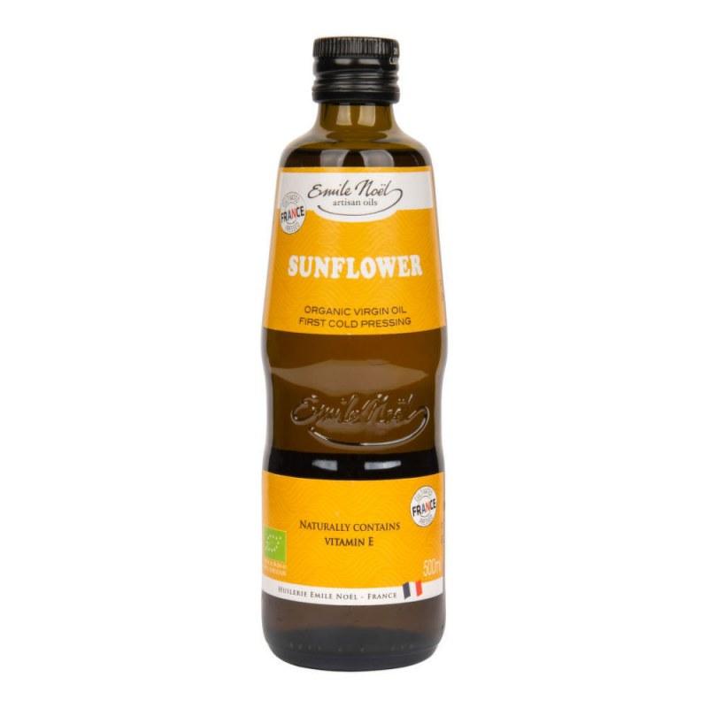 Olej slunečnicový 500ml BIO EMILENOËL - Zdravá výživa a biopotraviny Rostlinné oleje, ghí