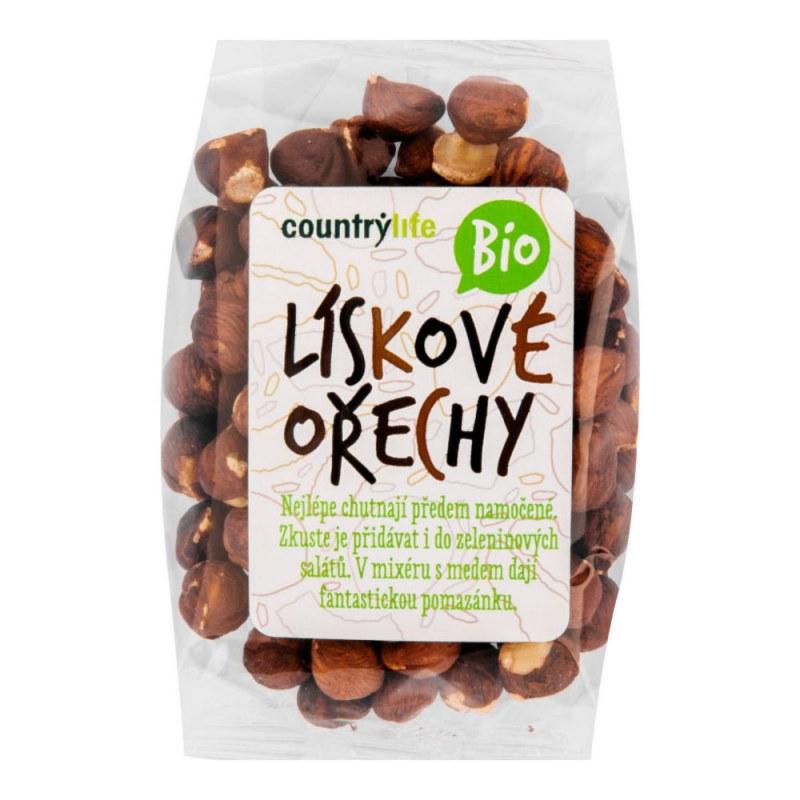 Lískové ořechy 100g BIO COUNTRYLIFE - Zdravá výživa a biopotraviny Ořechy, sušené ovoce, semínka Ořechy