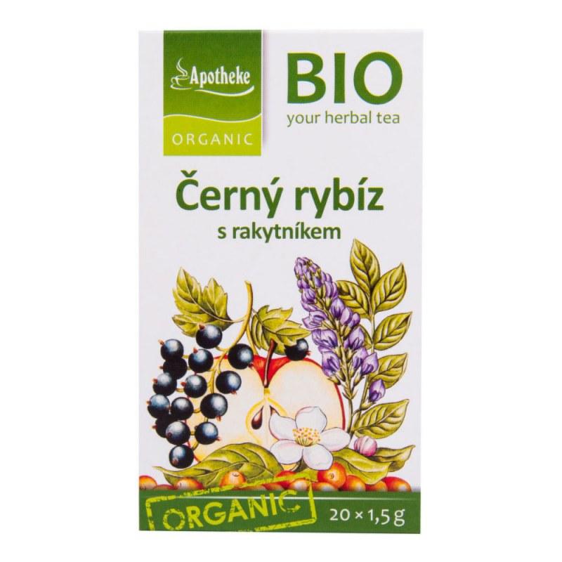 Čaj Ovocný s černým rybízem a rakytníkem 30g BIO MEDIATE - Zdravá výživa a biopotraviny Zdravé ovocné a zeleninové nápoje, čaje Čaje Čajové směsi