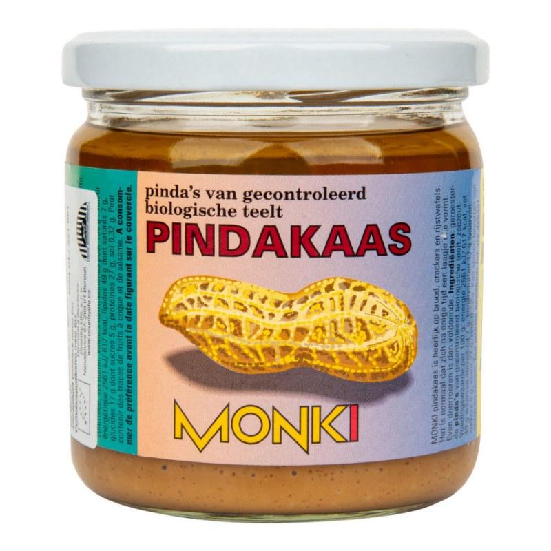 Krém arašídový jemný 330g BIO MONKI - Zdravá výživa a biopotraviny Pomázanky, paštiky, džemy Pomázanky z ořechů a semínek
