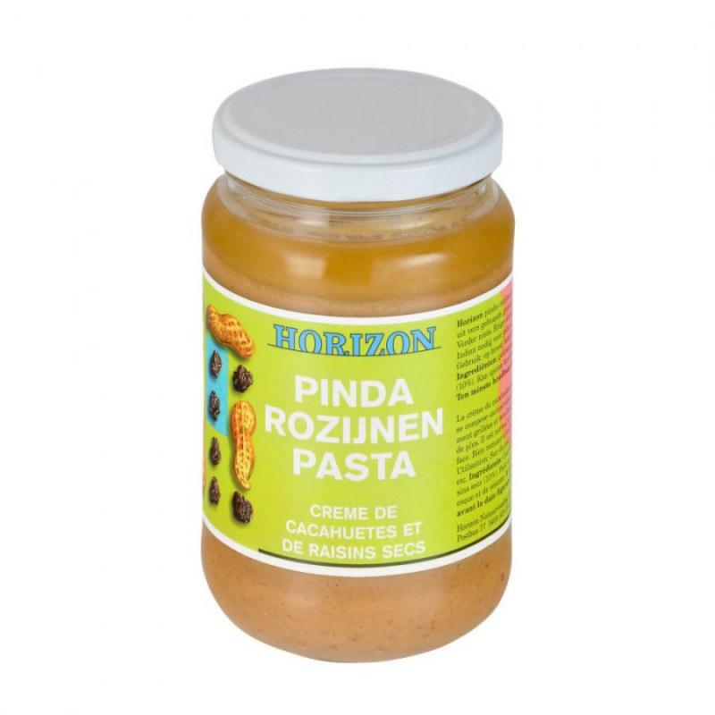 Krém arašídový s rozinkami 350g BIO HORIZON - Zdravá výživa a biopotraviny Pomázanky, paštiky, džemy Pomázanky z ořechů a semínek