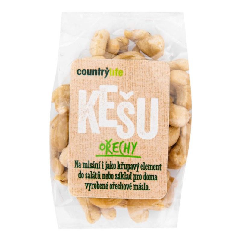 Kešu ořechy 100g COUNTRYLIFE - Zdravá výživa a biopotraviny Ořechy, sušené ovoce, semínka Ořechy