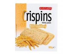 Chlebíček vícezrnný špaldový Crispins 100 g BIO EXTRUDO