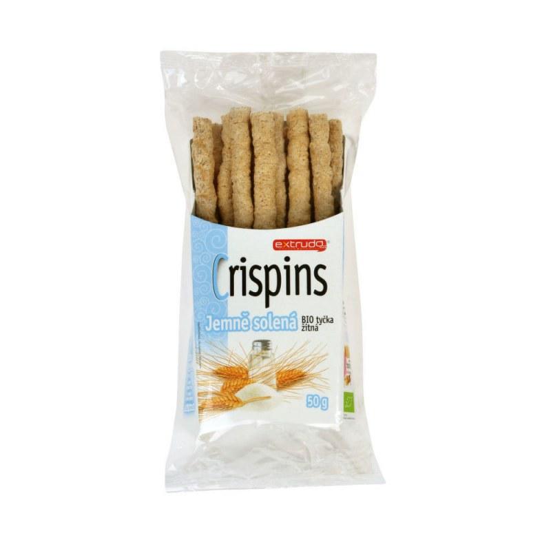 Tyčinka žitná Crispins jemně solená 50 g BIO EXTRUDO - Zdravá výživa a biopotraviny Něco na zub Slané Tyčinky, crackery, křupky