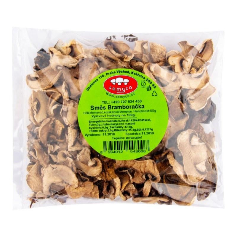 Houbová směs bramboračka 50g SAMYCO - Zdravá výživa a biopotraviny Směsi a omáčky Polévkové směsi