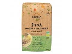 Mouka žitná celozrnná jemně mletá 1kg BIO PROBIO