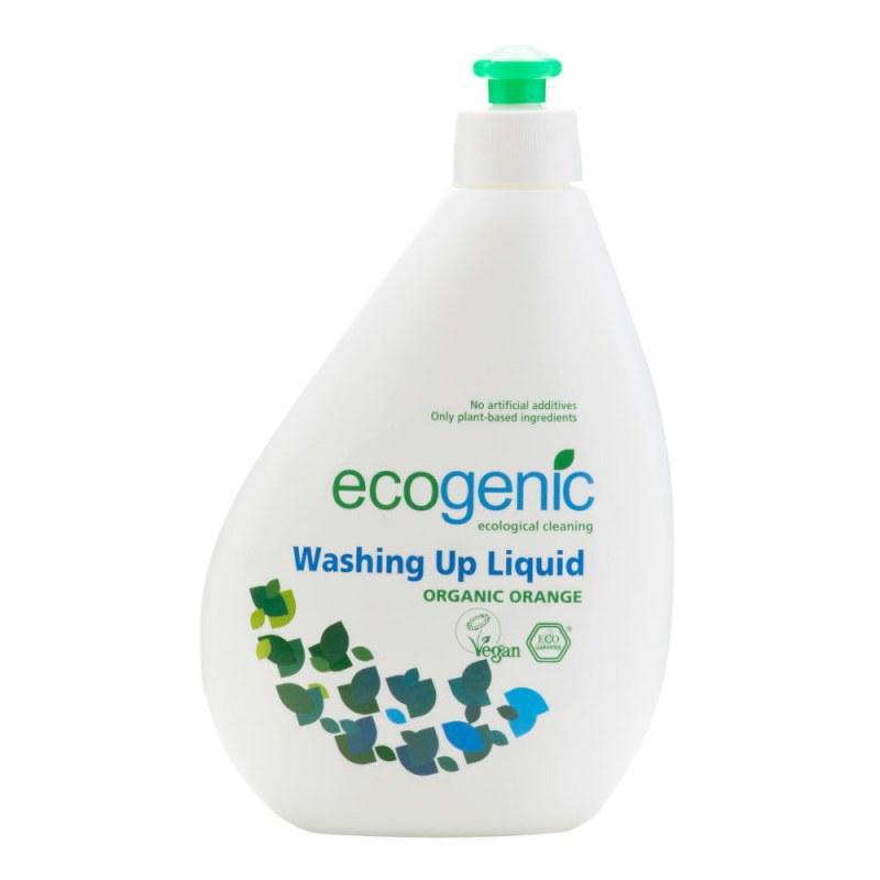 ECOGENIC přípravek na mytí nádobí s pomerančem 500 ml - EKO drogerie - Ecover, Ecogenic Přípravky na mytí nádobí Přípravky na ruční mytí