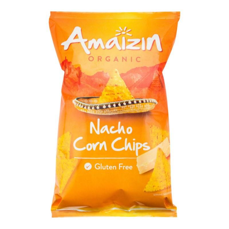 Chipsy kukuřičné nacho 150 g BIO AMAIZIN - Zdravá výživa a biopotraviny Něco na zub Slané Tyčinky, crackery, křupky