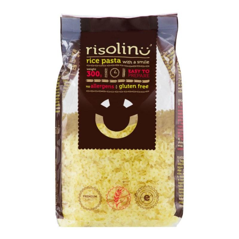 Těstoviny polévkové hvězdičky rýžové bezlepkové 300g RISOLINO - Zdravá výživa a biopotraviny Rýže, těstoviny, vločky a jiné obiloviny Těstoviny, kuskus, bulgur
