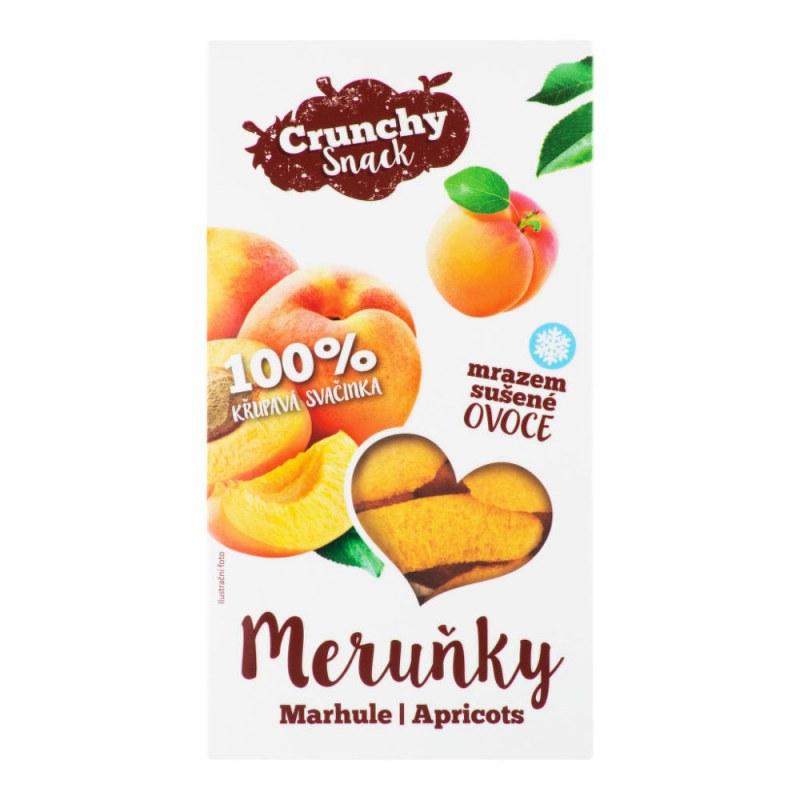 Meruňky sušené mrazem 15 g ROYAL PHARMA® - Zdravá výživa a biopotraviny Ořechy, sušené ovoce, semínka Sušené ovoce Jednodruhové sušené ovoce