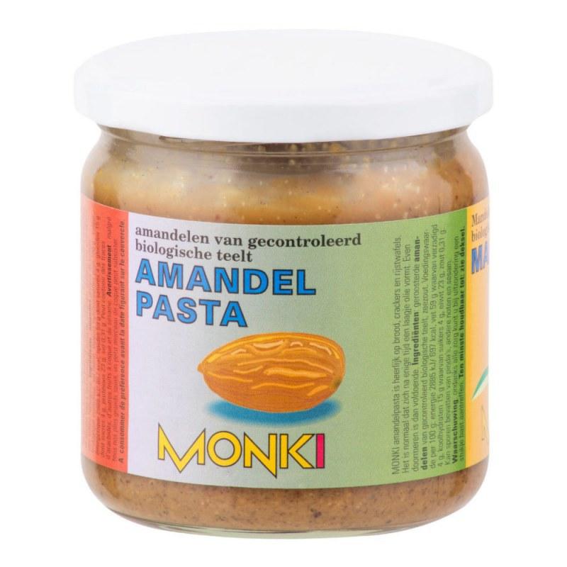 Krém z pražených mandlí 330 g BIO MONKI - Zdravá výživa a biopotraviny Pomázanky, paštiky, džemy Pomázanky z ořechů a semínek