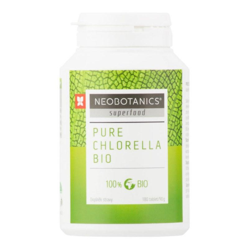 Chlorella Pure 90 g/180 tablet BIO NEOBOTANICS® - E-shop Doplňky stravy