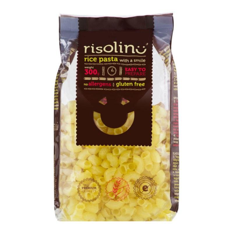Těstoviny kolínka rýžové bezlepkové 300 g RISOLINO - Zdravá výživa a biopotraviny Rýže, těstoviny, vločky a jiné obiloviny Těstoviny, kuskus, bulgur