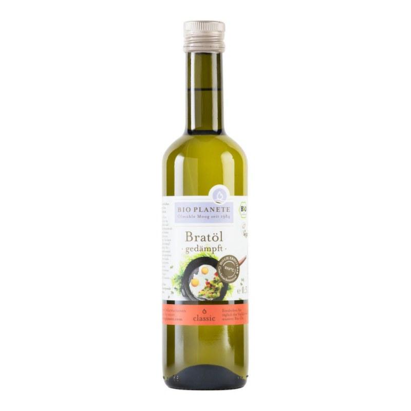 Olej slunečnicový dezodorizovaný na vaření a smažení 500 ml BIO BIOPLANETE - Zdravá výživa a biopotraviny Rostlinné oleje, ghí