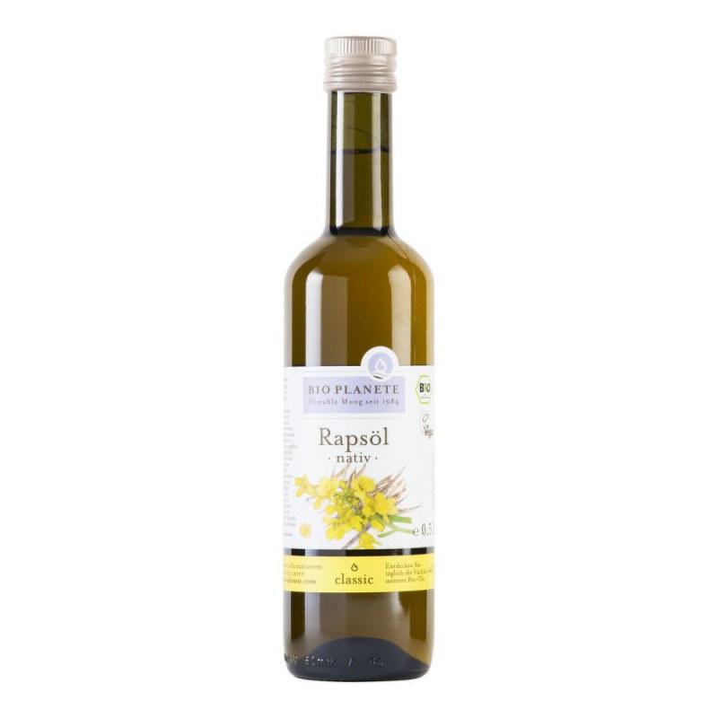 Olej řepkový 500 ml BIO BIOPLANETE - Zdravá výživa a biopotraviny Rostlinné oleje, ghí